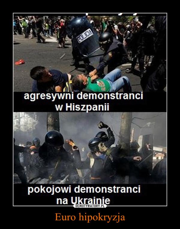 Euro hipokryzja